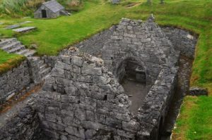 St. Cavans Church Inisheer Aran Islands Ireland