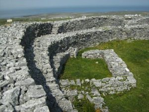 Stone fort on Inishmor, Aran Islands, Ireland