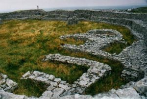 Inishmaan Aran Islands Ireland ancient ringfort