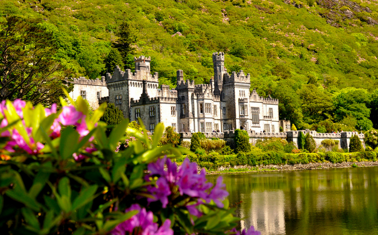 Image result for photos of kylemore abbey
