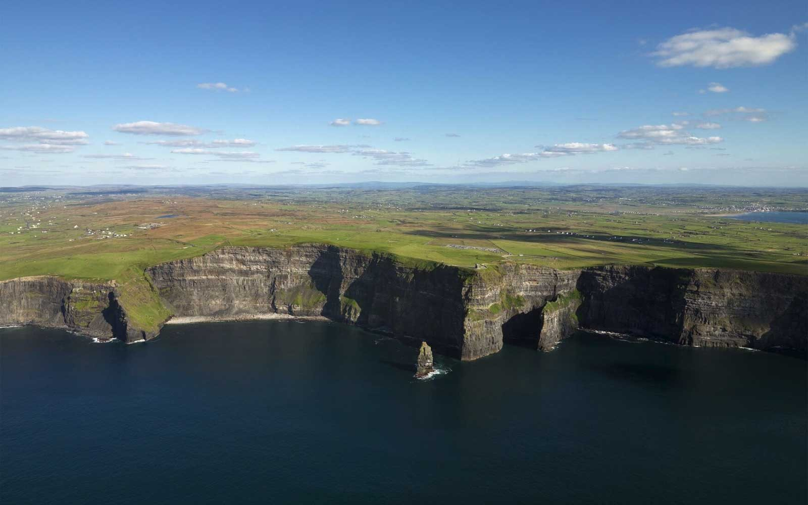View of Cliffs of Moher